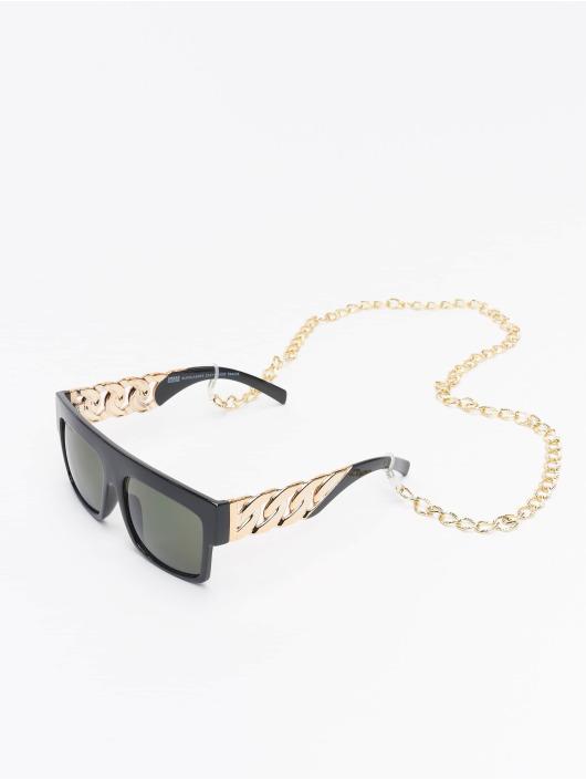 Urban Classics Очки Sunglasses Zakynthos With Chain черный