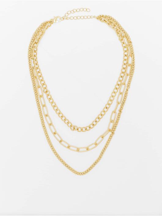 Urban Classics Прочее Layering Chain Necklace золото
