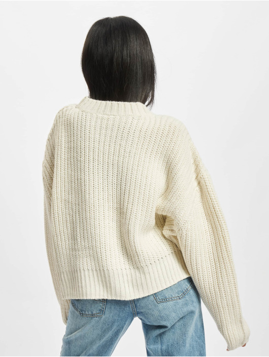 Urban Classics Пуловер Ladies Wide Oversize бежевый