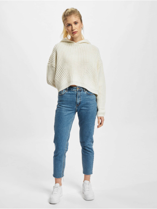 Urban Classics Пуловер Ladies Oversized бежевый