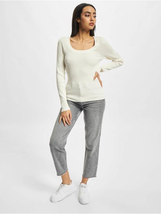 Urban Classics Пуловер Wide Neckline бежевый