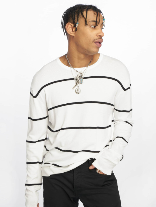 Urban Classics Пуловер Line белый