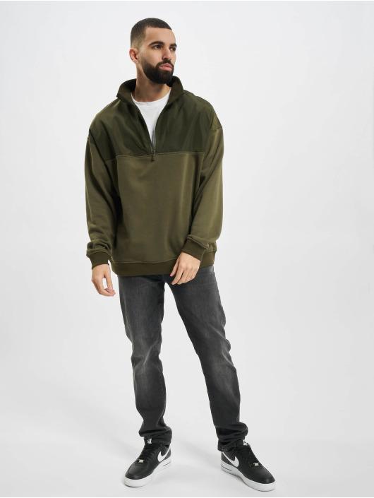 Urban Classics Пуловер Military оливковый
