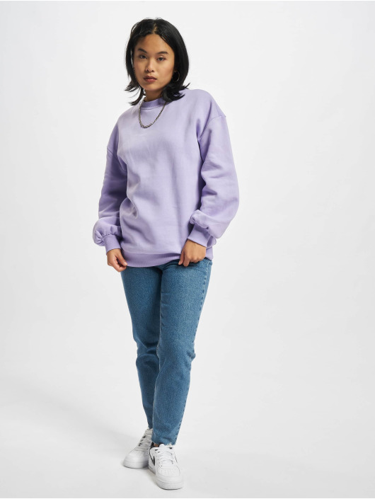 Urban Classics Пуловер Organic Oversized пурпурный