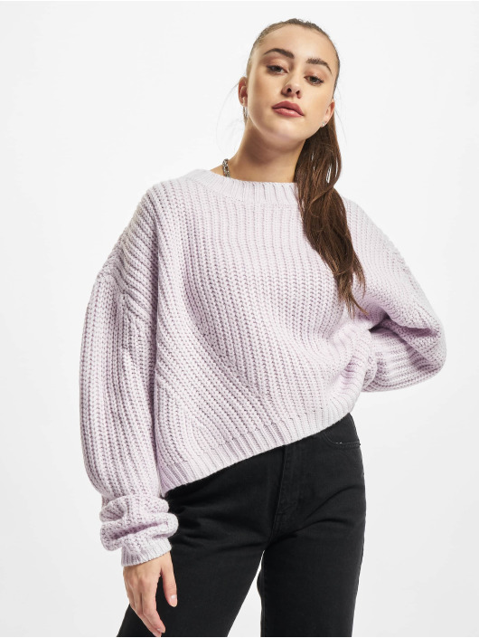 Urban Classics Пуловер Ladies Wide Oversize пурпурный