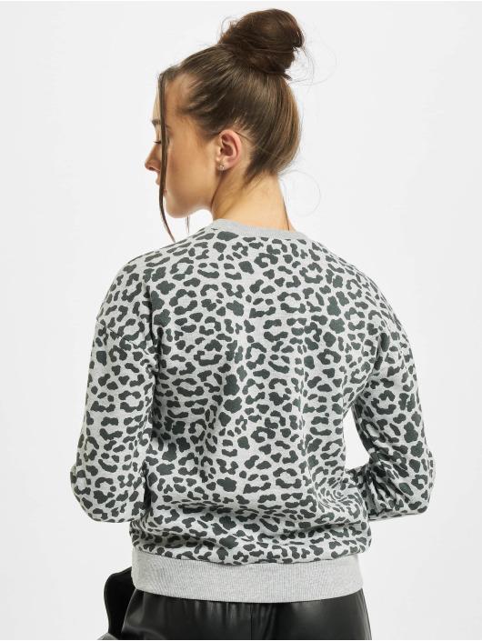 Urban Classics Пуловер Ladies AOP Leo серый