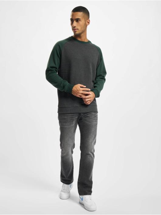 Urban Classics Пуловер 2-Tone Raglan серый