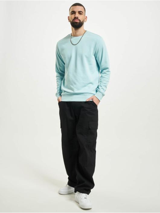 Urban Classics Пуловер Basic Terry синий