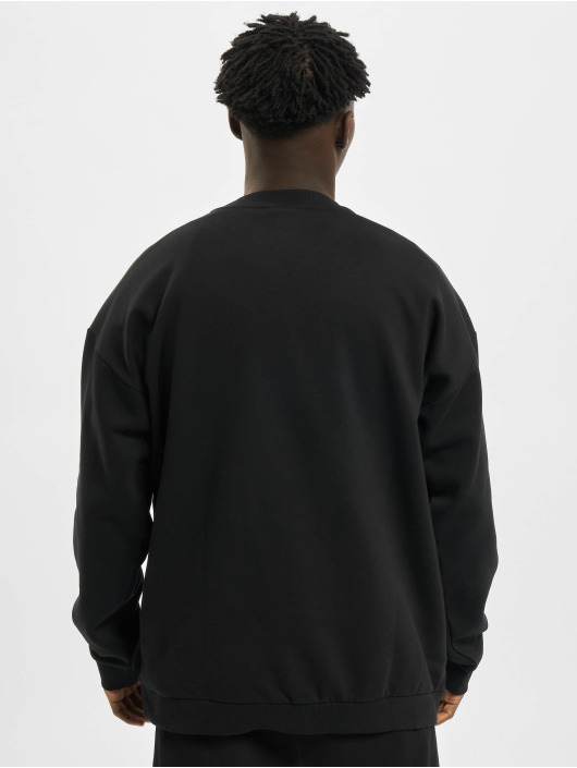 Urban Classics Пуловер Mid Logo Oversized Crew черный