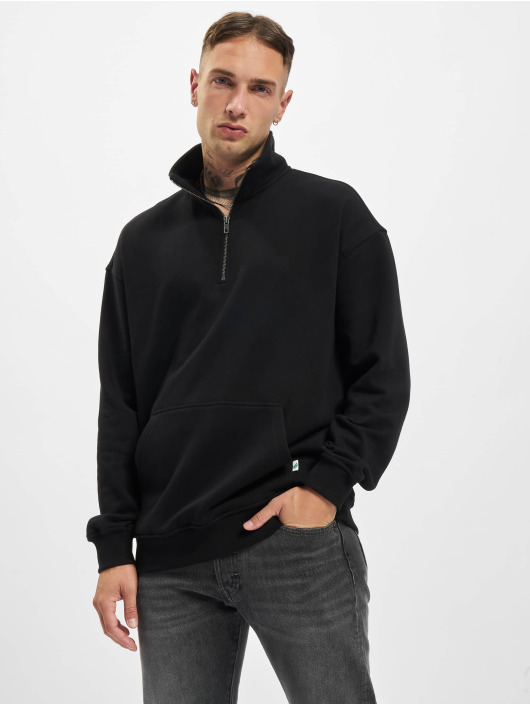 Urban Classics Пуловер Organic Basic Troyer черный