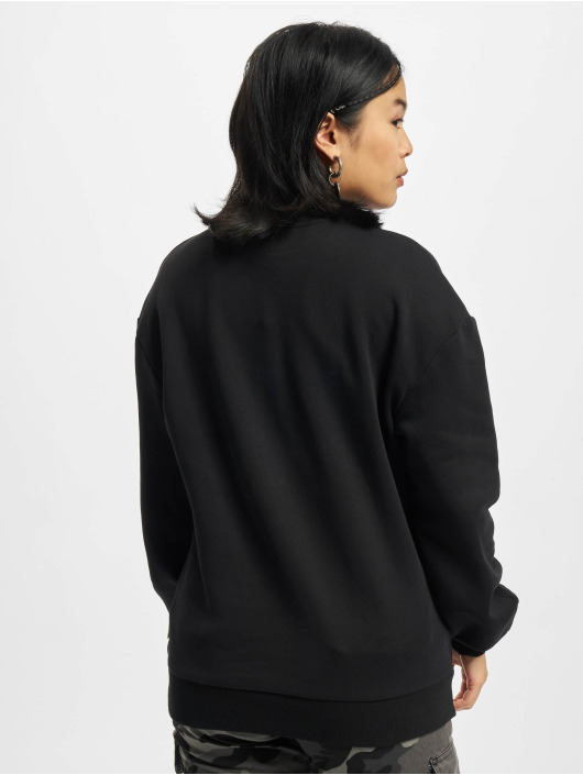 Urban Classics Пуловер Organic Oversized черный