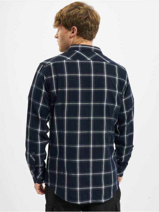 Urban Classics Рубашка Basic Check синий
