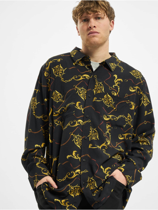 Urban Classics Рубашка Viscose черный