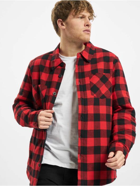 Urban Classics Рубашка Padded Check черный