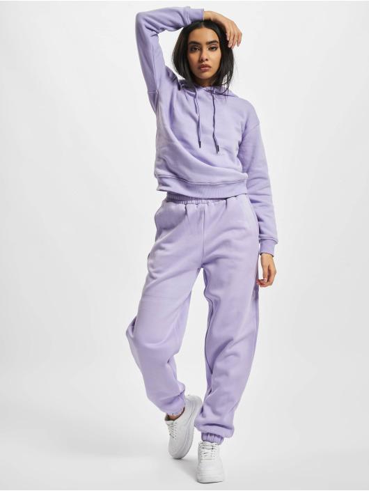 Urban Classics Спортивные брюки Ladies Organic High Waist Ballon пурпурный