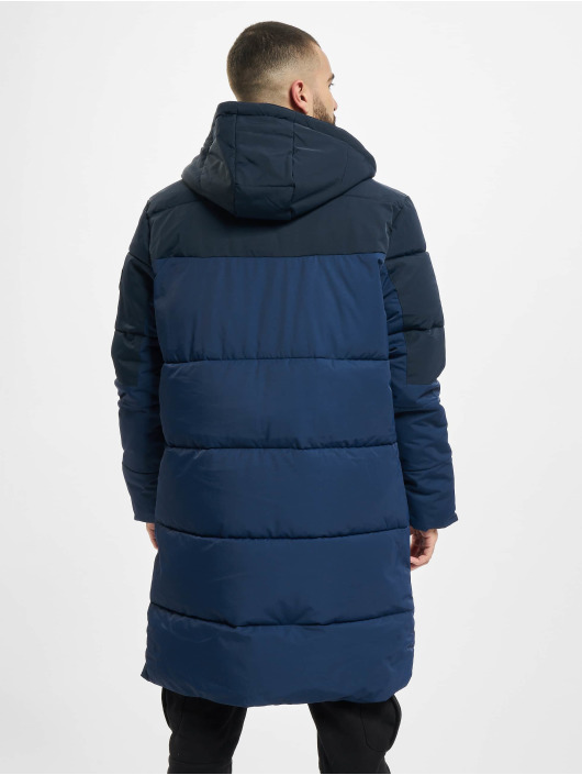 Urban Classics Стеганая куртка Puffer синий