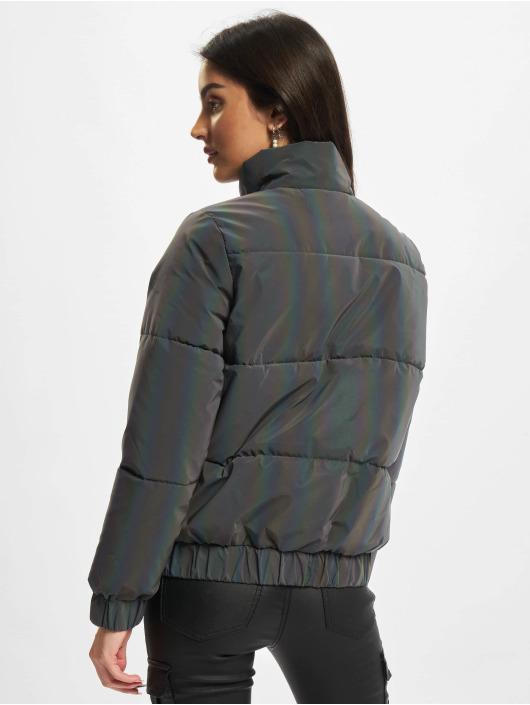 Urban Classics Стеганая куртка Ladies Iridescent Reflectiv цветной