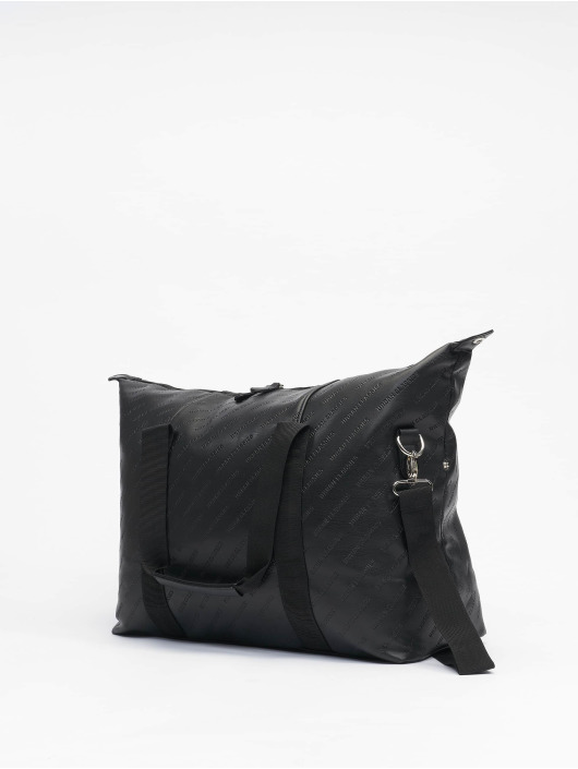 Urban Classics Сумка Imitation Leather Weekender черный
