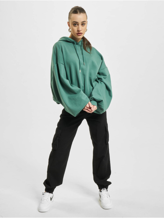 Urban Classics Толстовка Ladies Organic Oversized Terry зеленый