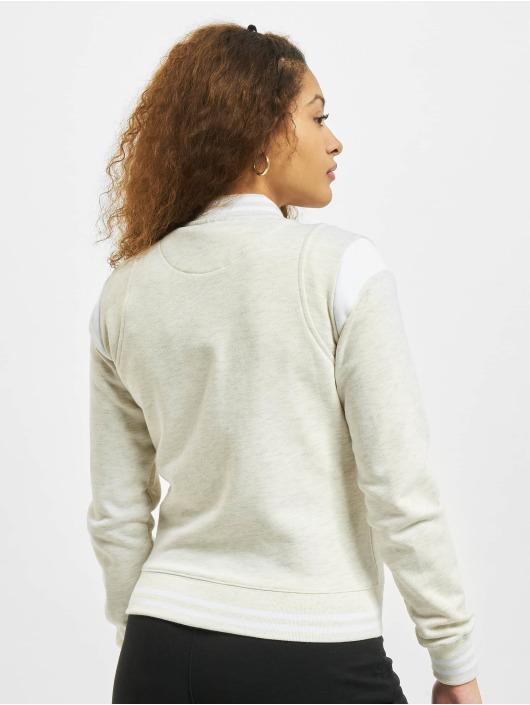 Urban Classics Университетская куртка Inset College серый