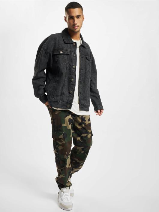 Urban Classics джинсовая куртка Oversized Denim черный