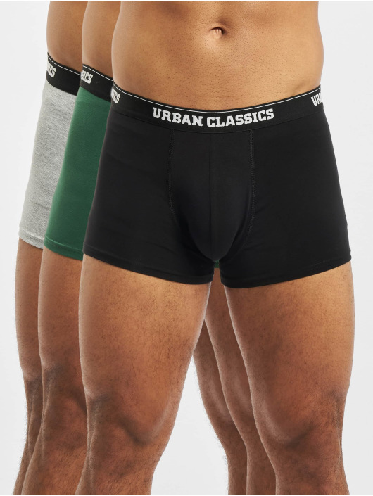 Urban Classics  Shorts boxeros 3-Pack gris