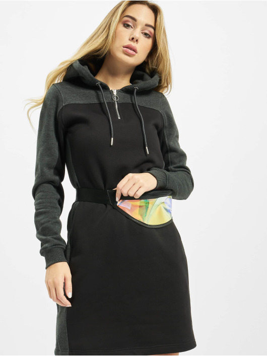 Urban Classics Abito Ladies 2-Tone Hooded nero