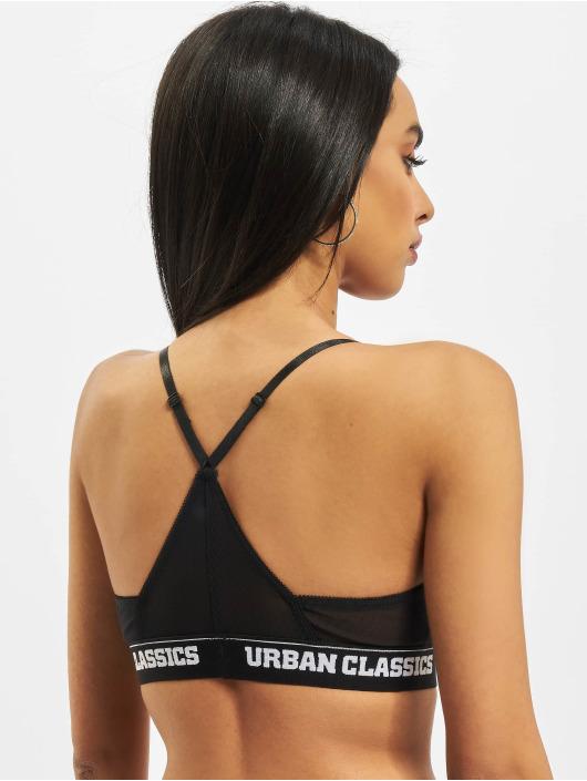 Urban Classics Alusasut Triangle Tech Mesh Logo musta