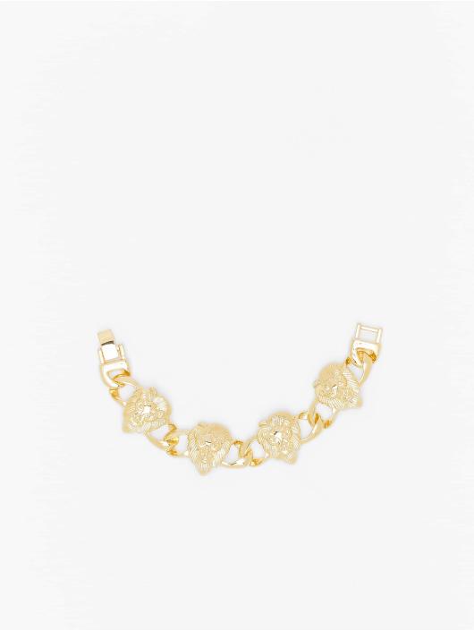 Urban Classics Armband Lion Bracelet goldfarben