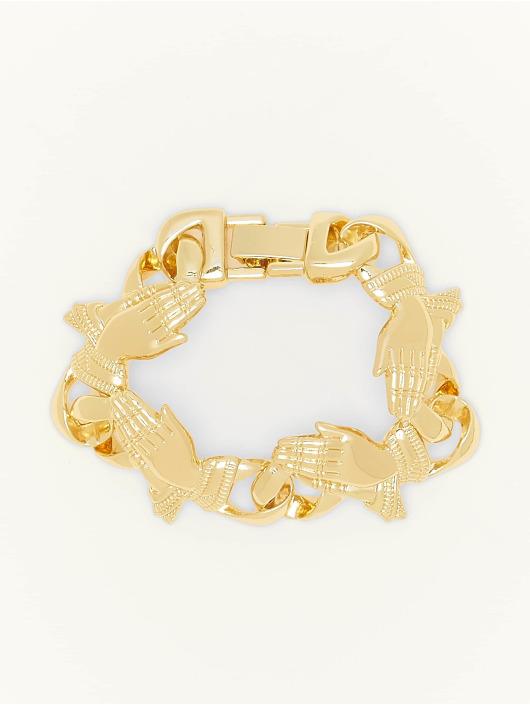 Urban Classics armband Pray Hands goud