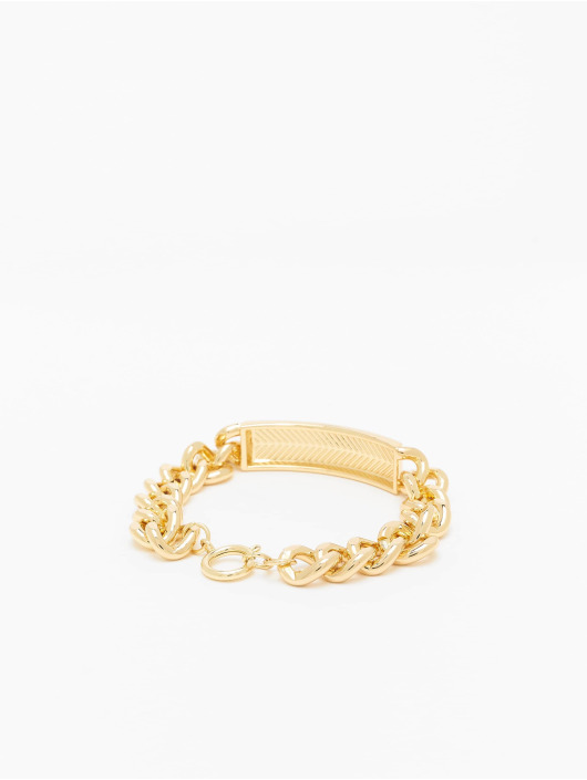 Urban Classics armband Plate goud