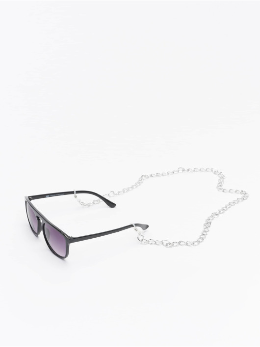 Urban Classics Aurinkolasit Sunglasses Mykonos With Chain musta