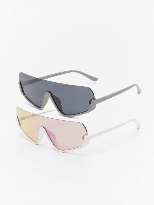 Urban Classics Aurinkolasit Spetses 2-Pack valkoinen