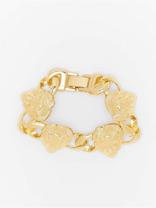 Urban Classics Autres Lion Bracelet or