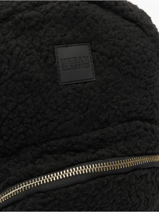 Urban Classics Backpack Sherpa Mini black