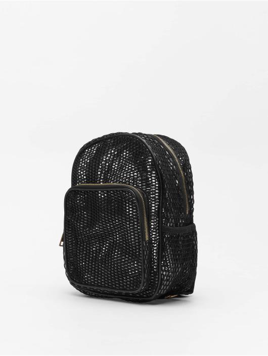 Urban Classics Backpack Lady Mesh Transparent black