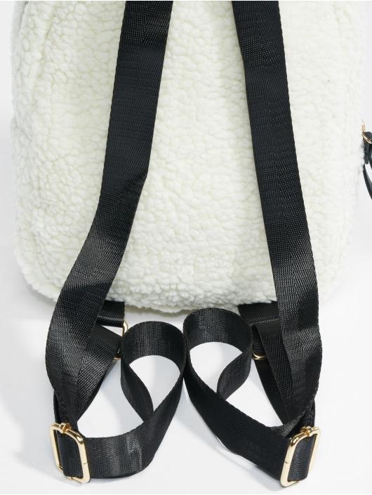 Urban Classics Backpack Sherpa Mini white