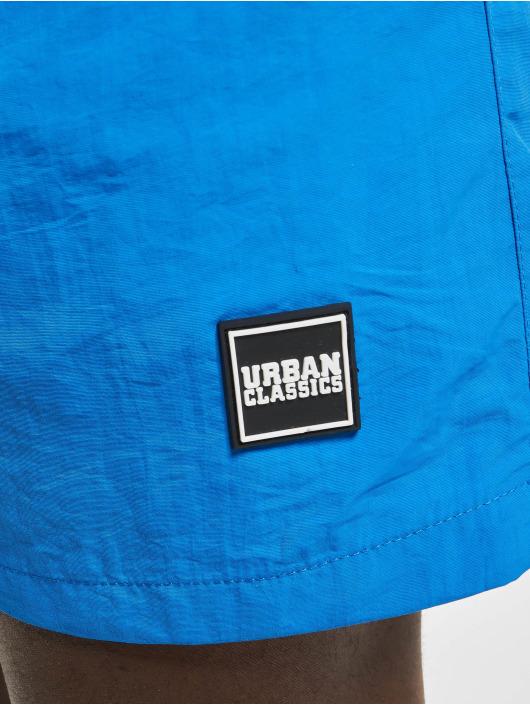 Urban Classics Badeshorts Block Swim blau