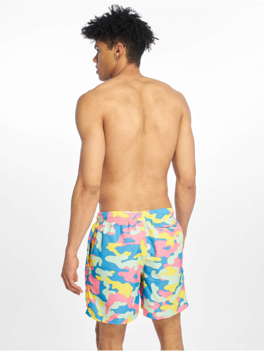 Urban Classics Badeshorts Camo colored
