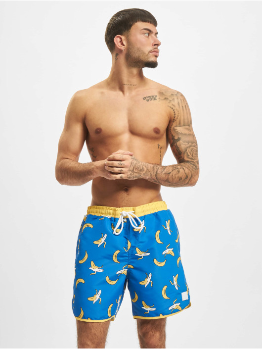 Urban Classics Badeshorts Pattern Retro Swim colored
