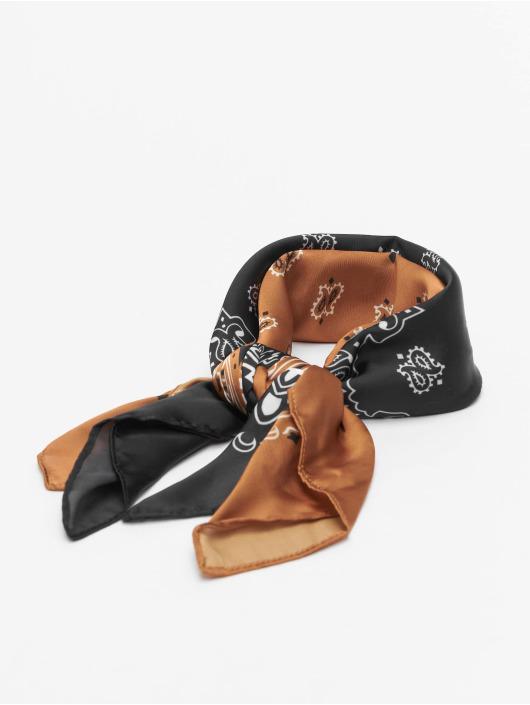 Urban Classics bandana Satin 2-Pack zwart