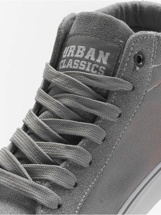 Urban Classics Baskets High Canvas gris