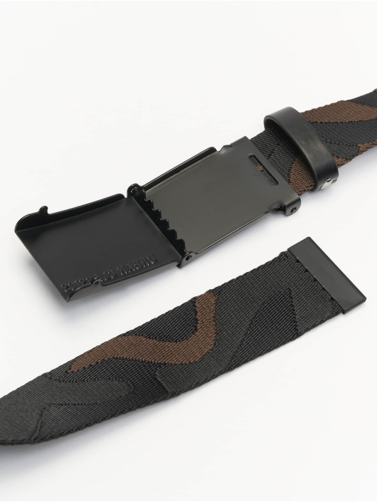 Urban Classics Belt Jaquard Camo black