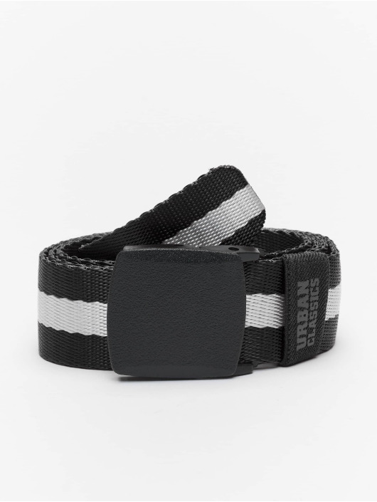 Urban Classics Belt Centre Stripe black