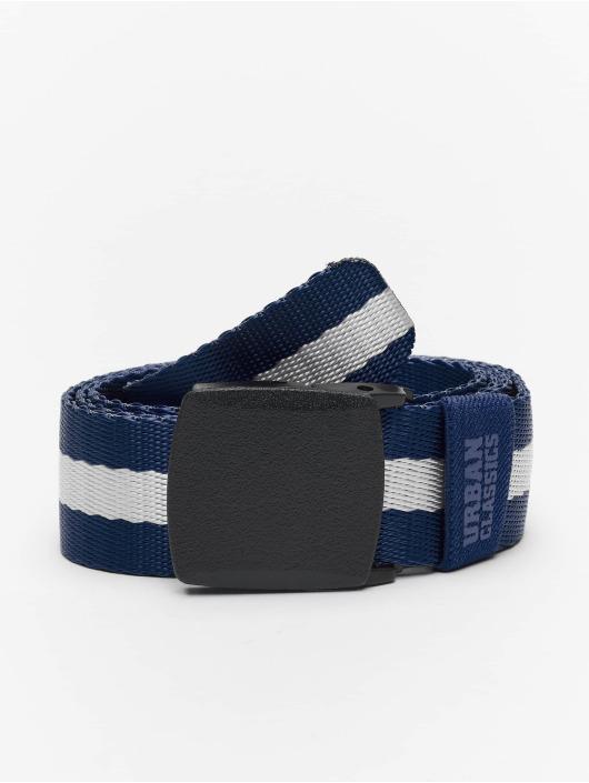 Urban Classics Belt Centre Stripe blue