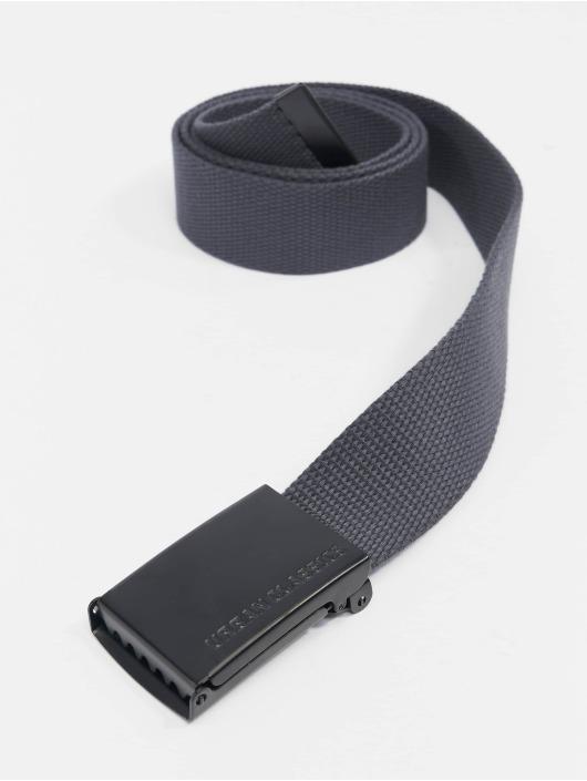 Urban Classics Belt Canvas grey