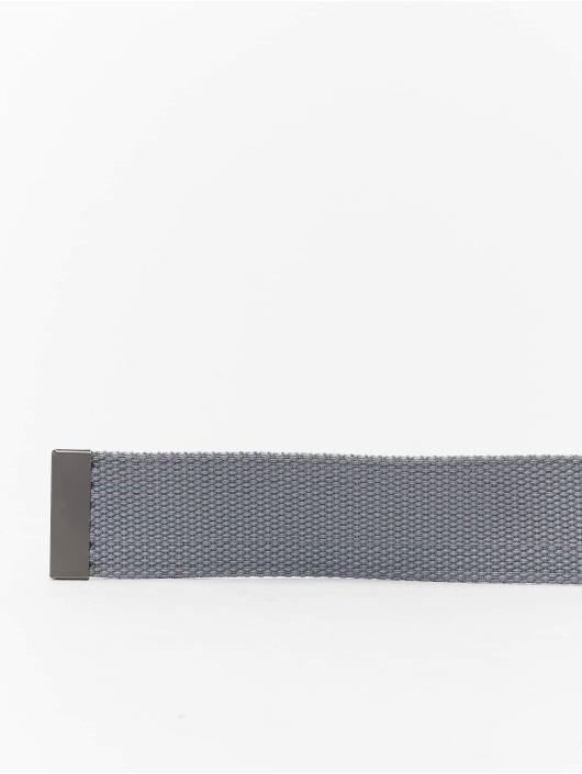 Urban Classics Belts Canvas grå