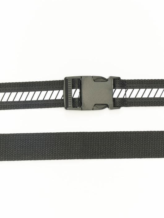 Urban Classics Belts Reflective svart