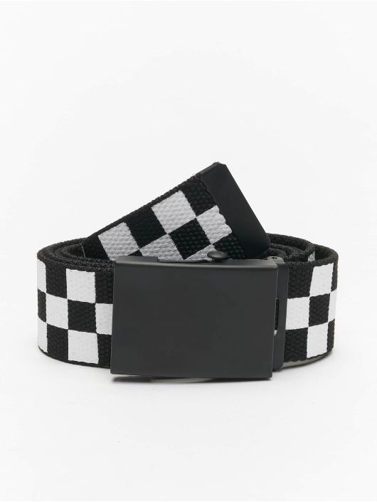 Urban Classics Belts Adjustable Checker svart
