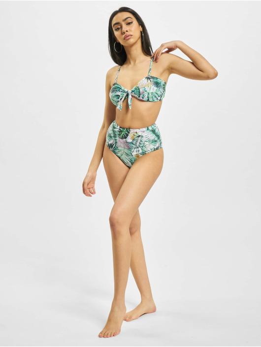 Urban Classics Bikini Ladies High Waist Pattern bialy